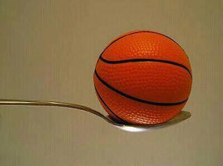 Marcelo Perez - Basketball in a Spoon