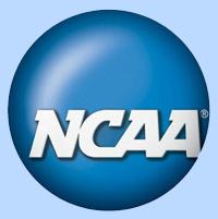 NCAA blue round logo