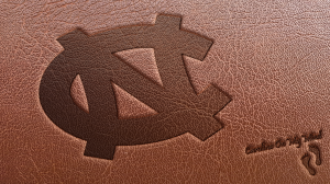 Leather Interlocking NC UNC Desktop Wallpaper 1920 x 1080