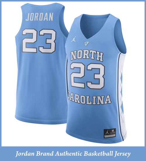 cheaper f5d23 d4bbb Jordan UNC Authentic Jersey - Carolina On My Mind